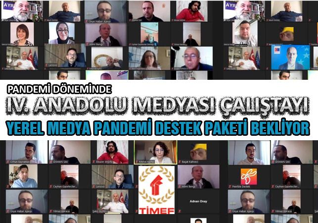 Pandemi Sürecinde IV. Anadolu Medyası Çalıştayı